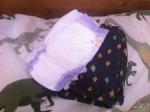giving up night nappies